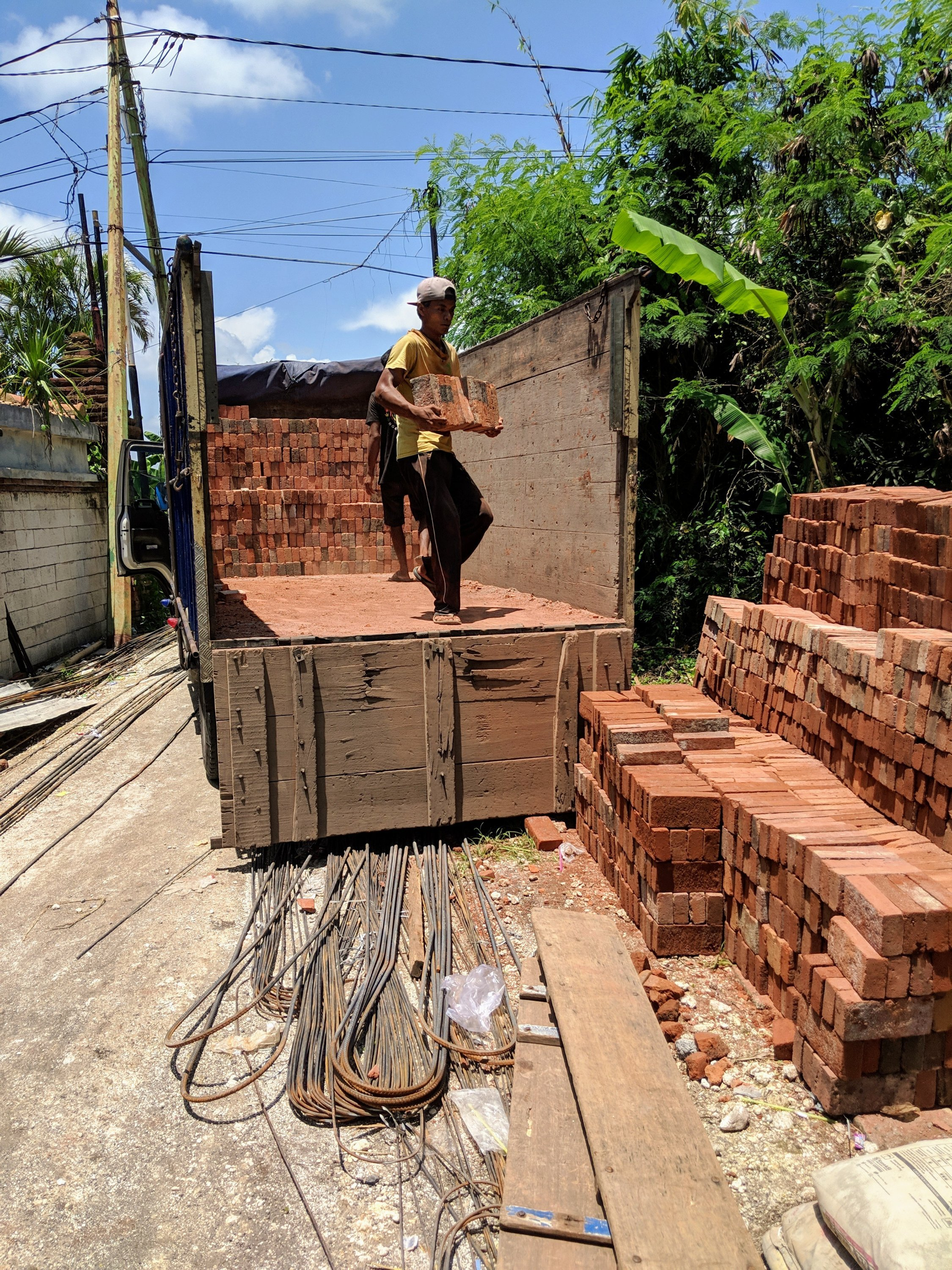 Week #23 -- More brick walls, plaster, and form work 2